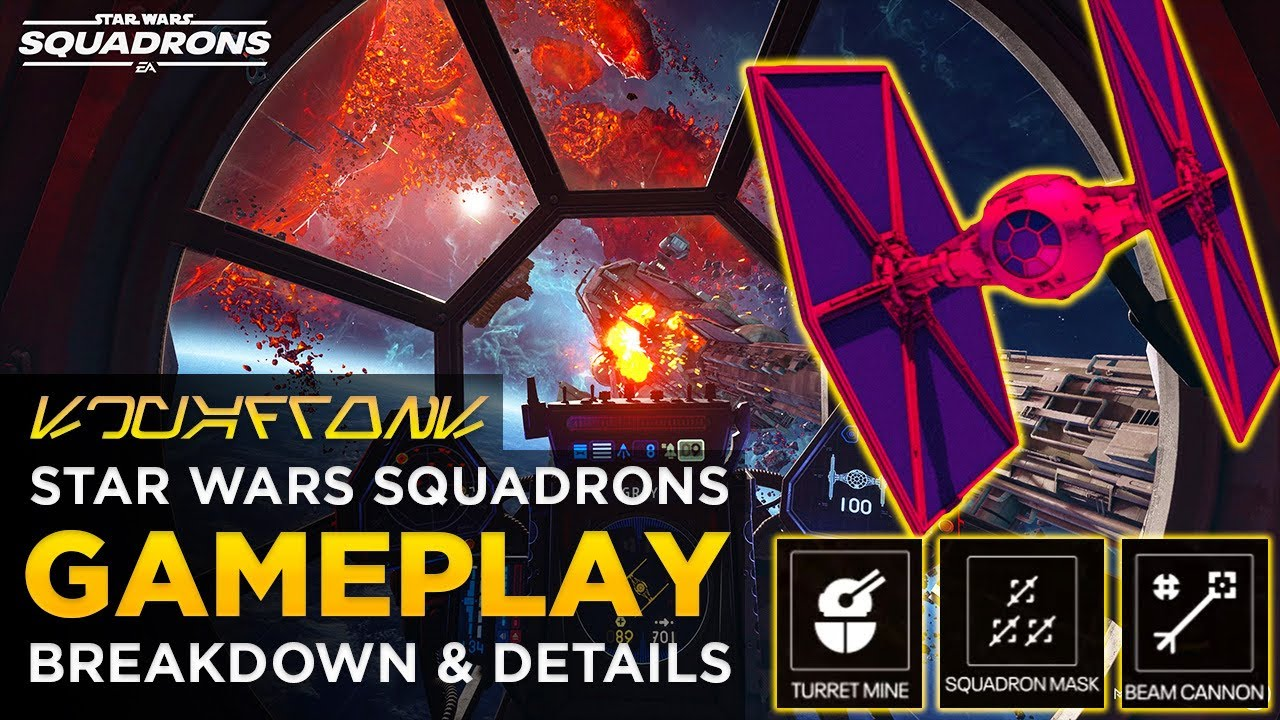 Star Wars Squadrons Gameplay Reveal | Breakdown, Loadouts & More!