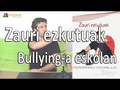 Zauri ezkutuak. Bullying-a eskolan - Fernando Morillo (Sorginetxe istorioak)