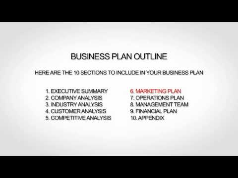 Website Business Plan Free Outline - YouTube
