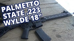 """Palmetto State AR15 18"""" 223 Wylde First Shots Review"""