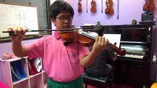 Presto - Trinity violin(2016-2019) Grade 4 -A1