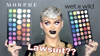 UNBIASED COMPARISON OF THE JAMES CHARLES PALETTE WITH THE WET N WILD DUPE