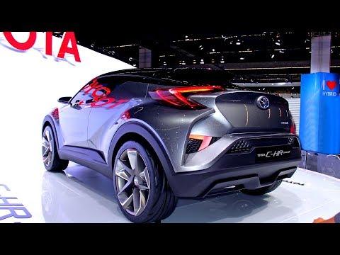 2020 Toyota C-HRR Super Hybrid CX Coupe - Full Exterior 1080p