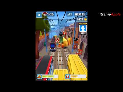 Subway Surfers Shanghai iPad Gameplay HD #2