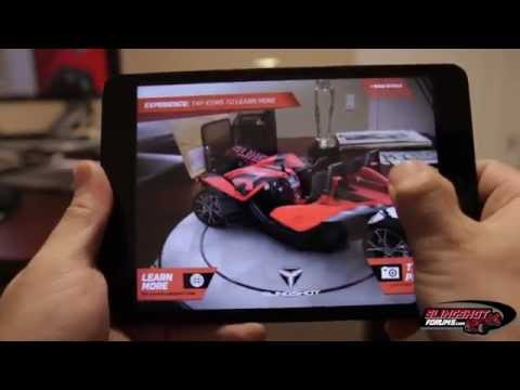 Polaris Slingshot 360 App - Augmented Reality