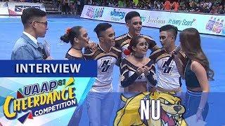 UAAP CDC Season 81: NU Pep Squad   Post-Group Stunts Interview