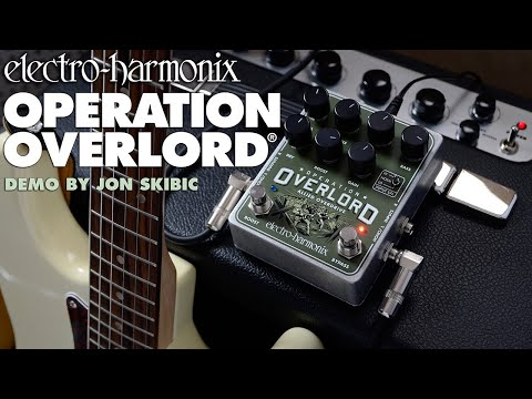 Electro-Harmonix Operation Overlord Allied Overdrive with Jon Skibic
