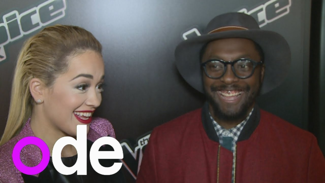 Rita Ora S Hilarious Will I Am Impression At The Voice Uk Launch Youtube