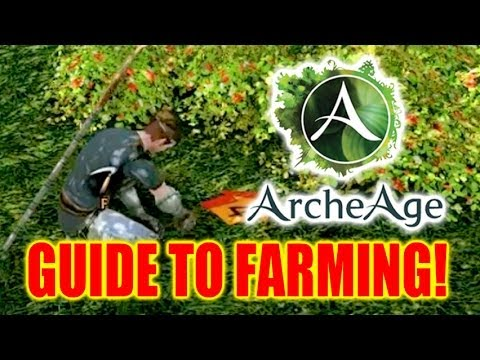 Archeage Guide to Farming! How to Grow Crops and Raise Animals!