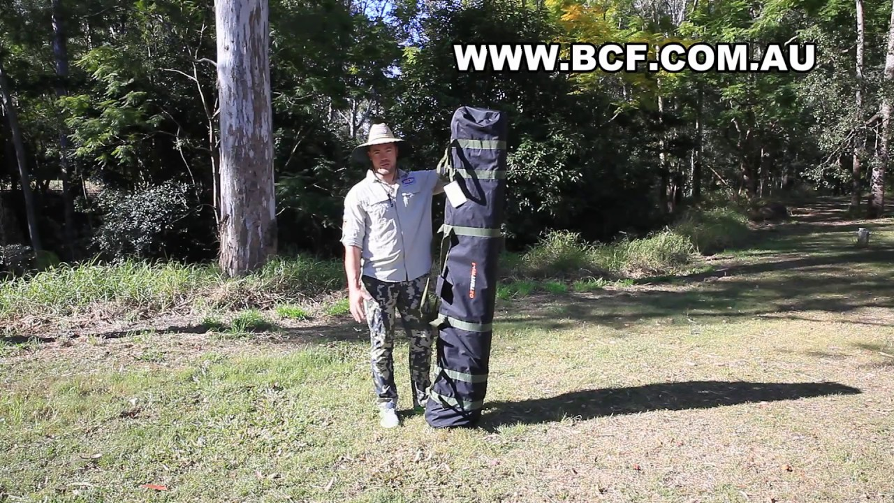 BCF TV - 30 second tent - OZTENT RV4 - tent guide - BCF - Dean Silvester & BCF TV - 30 second tent - OZTENT RV4 - tent guide - BCF - Dean ...