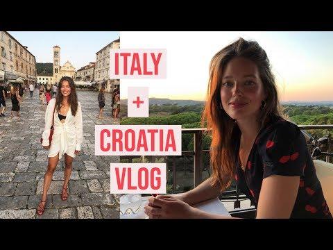 Italy + Croatia VLOG   My Summer Vacation   Emily DiDonato