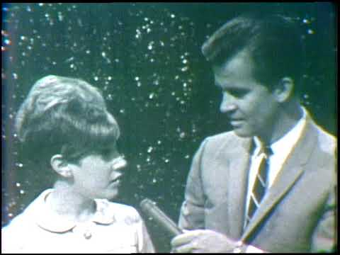 American Bandstand 1966- Interview Lesley Gore