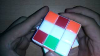Rubik Kup Yapimi ders 3 2. Katman Yapimi