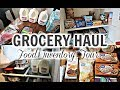 WEEKLY GROCERY HAUL + FOOD INVENTORY TOUR | SHOP YOUR PANTRY FIRST!