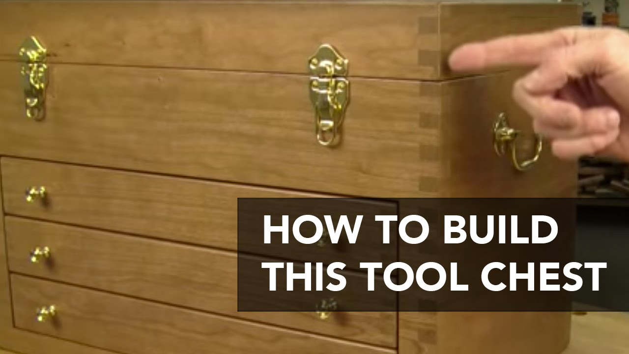 Build This Classic Tool Chest Wood Toolbox Project Plan