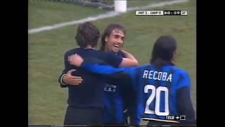 26/1/2003 Batistuta debut for Inter