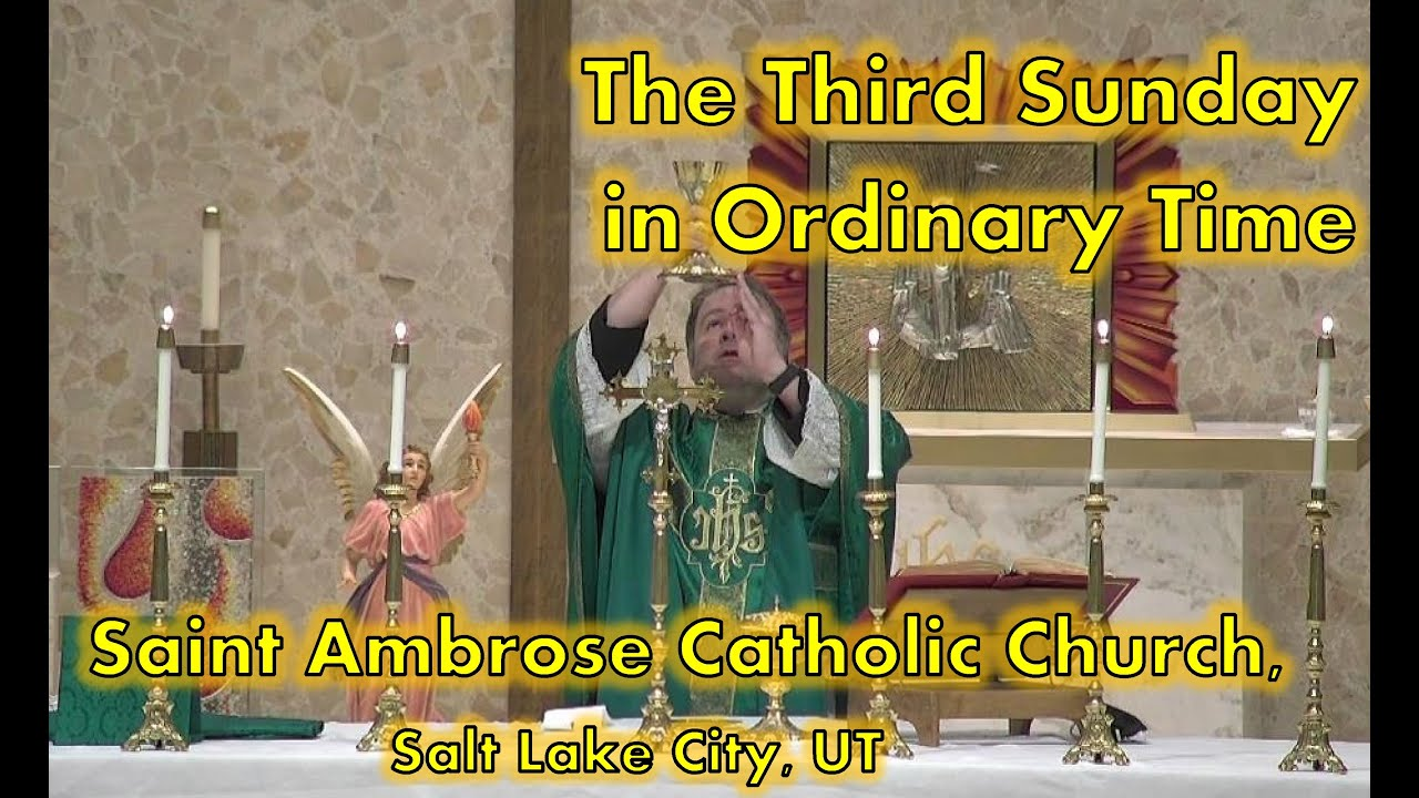 3rd Sunday in Ordinary Time B