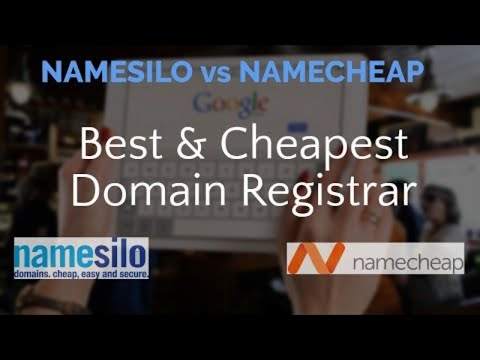 Namesilo vs NameCheap | Best and Cheapest Domain Registrars compared | Best Cheap Domains ⭐⭐⭐⭐⭐ thumbnail