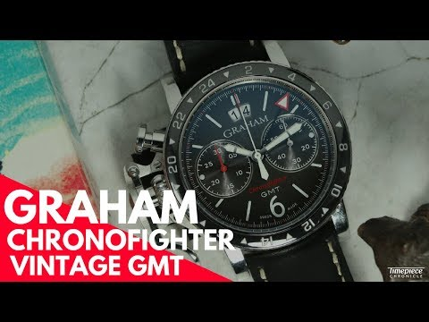 Graham Chronofighter Vintage GMT | Timepiece Chronicle