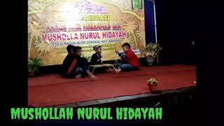 "Drama islami berjudul ""Santri Keren Vs Preman Lebay"" (Translite Bahasa Indramayu)."