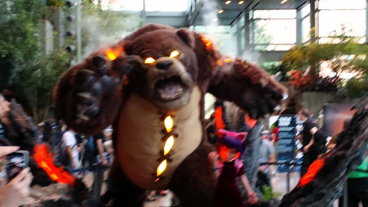 Epic Anime Wallpaper League Of Legends Annie And Tibbers Statue Youtube