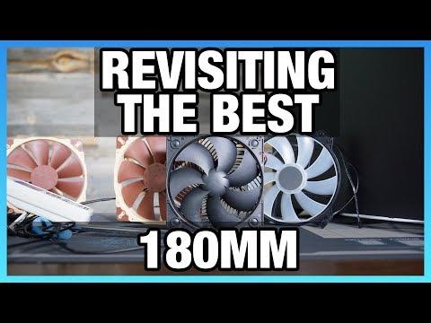 The Best Large Fan: SilverStone 180mm Air Penetrator Revisit