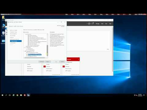 Windows Server 2016 - Install IIS 10.0 (How to Step by Step)