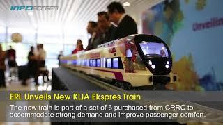 ERL Unveils New KLIA Ekspres Train