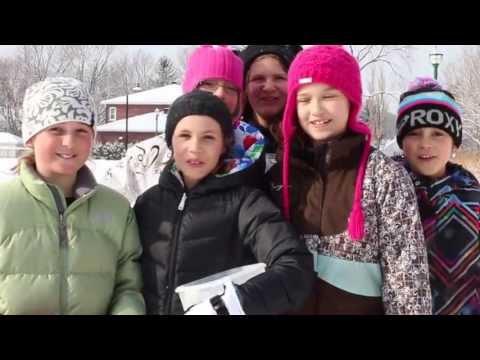 Marche pour l'eau 2013 - École Montessori de Québec