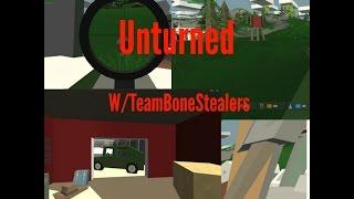 Unturned - Where To Get The Timberwolf Sniper Rifle And The Novuh Shotgun