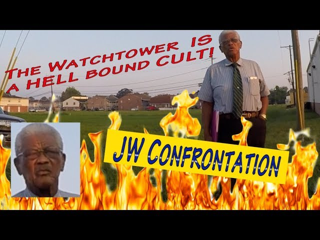 82 yr old Jehovah's Witness on his way to Hell!