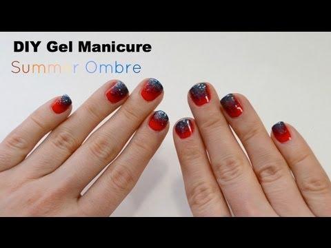 Diy Ombre Gel Nails Bailey B