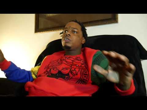 HMF Gutta INTERVIEW (TALKS ABOUT LIL CHICKEN BEEF) ($20K AT CRIME JEWELRY)