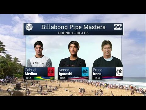 Billabong Pipe Masters: Round One, Heat 5