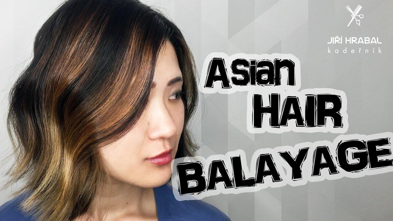 BALAYAGE asian hair