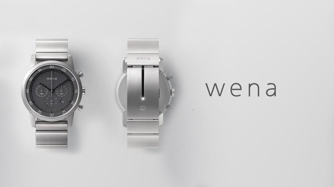 501de873d53 Sony wena product official video
