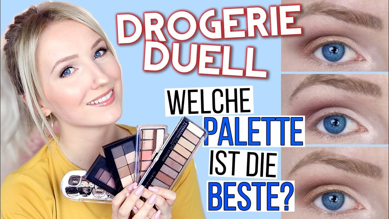 5 drogerie lidschatten paletten im test welche ist die beste thebeauty2go youtube. Black Bedroom Furniture Sets. Home Design Ideas