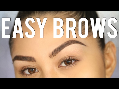 TUTORIAL: PERFECT EYEBROWS IN 3 STEPS