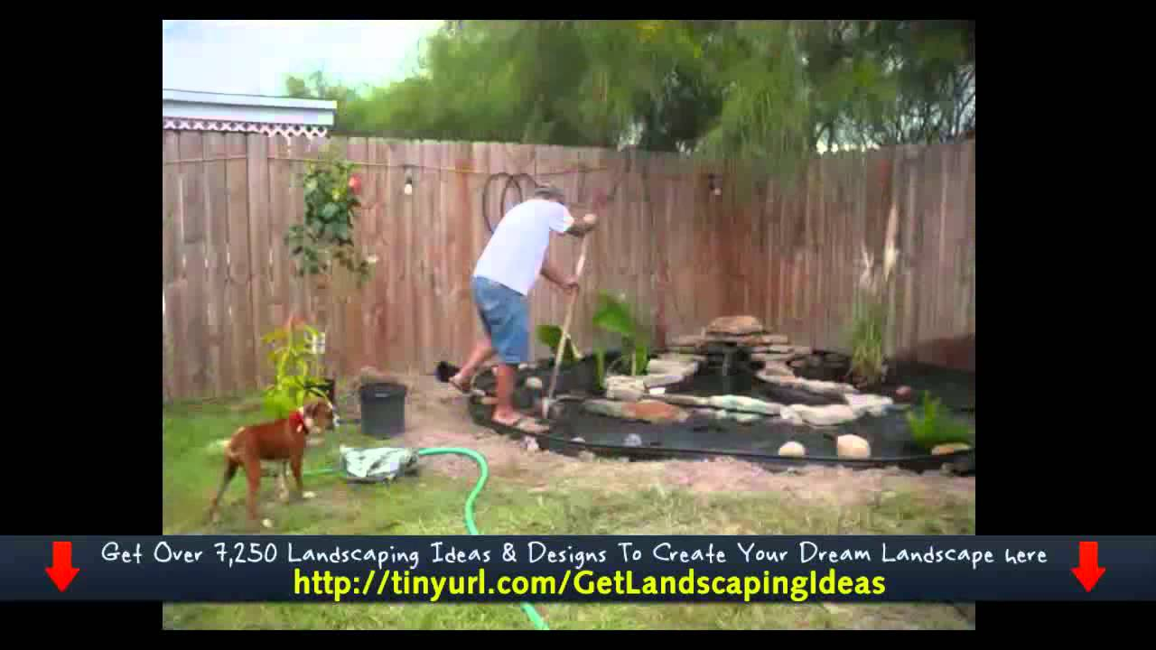 Rock landscaping ideas youtube for Landscaping rocks midland tx