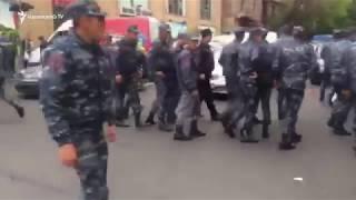 Սարյանը կարճ ժամանակով փակվեց. ցուցարարները փախան, երբ ժամանեցին ոստիկանները