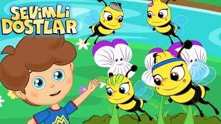 Arı Vız Vız Vız - Sevimli Dostlar çizgi film çocuk şarkıları 2017 - Adisebaba TV Bebek Şarkıları