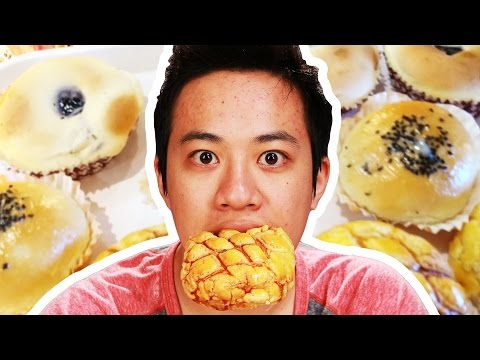 People Try Taiwanese Pastries