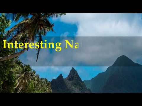 Interesting National Park of American Samoa Facts