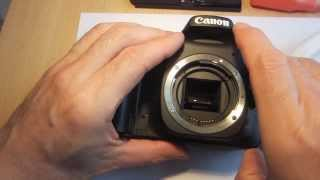 Видео Error 99 Replacing Shutter on Canon Canon 30D - замена затвора (p. 1) (автор: Ja A)