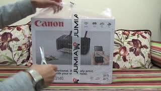 Canon Pixma TS 3140 Multifunction Printer Unboxing and Test /Photo Printing /Copying