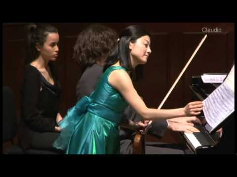Respighi: Violin Sonata in B minor - 1. Moderato (Lisa Ueda, Daniele Rinaldo)