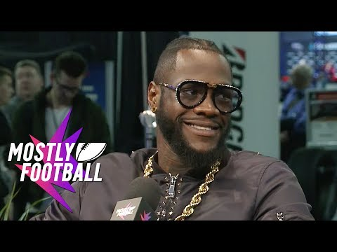 Heavyweight Champ Deontay Wilder Talks Rematch And How To Get That Knockout | Mostly Football