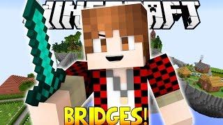 Minecraft: Bridges - PVP Mini-Game! FUNNIEST DEATHS EVER! IT