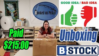 B-Stock Liquidation Unboxing - 1st Time Buyer - Paid $215 - Good Or Bad? - Online Reselling