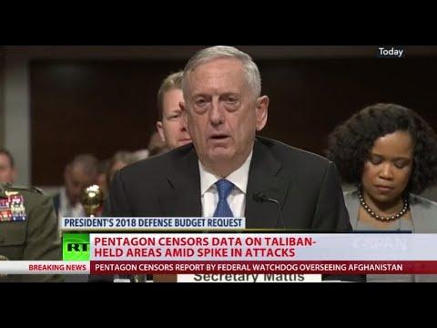 Pentagon bans release of data on Afghanistan war progress – why?